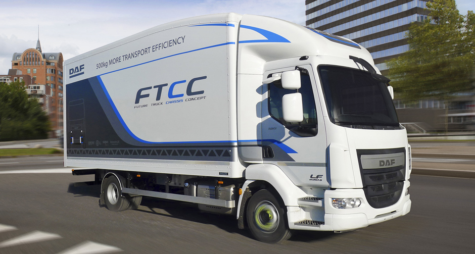 DAF Future Truck Chassis Concept 940